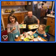 Cookies Christmas 2017 Girls & Dad